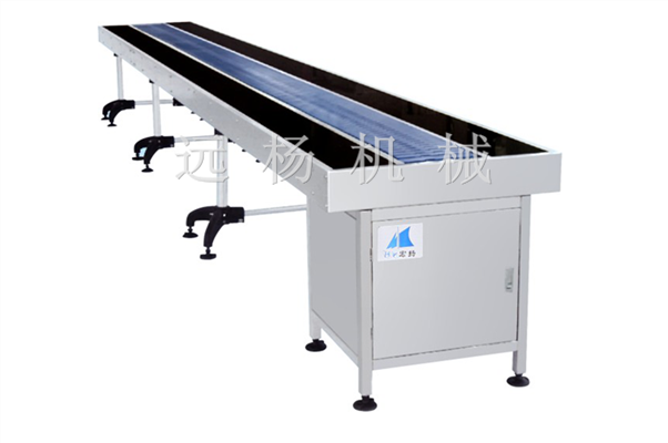 Tempered Glass Chain Belt Conveyor Table Manufacturers